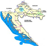 Trains and railways in Croatia