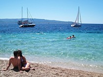 Beach on Brac