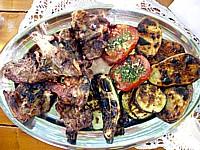 Grilled Brac lamb