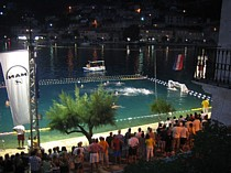 pucisca, brac, croatia - night events