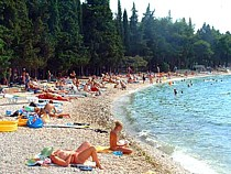 plaża w supetar