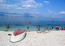 beach in sutivan, croatia